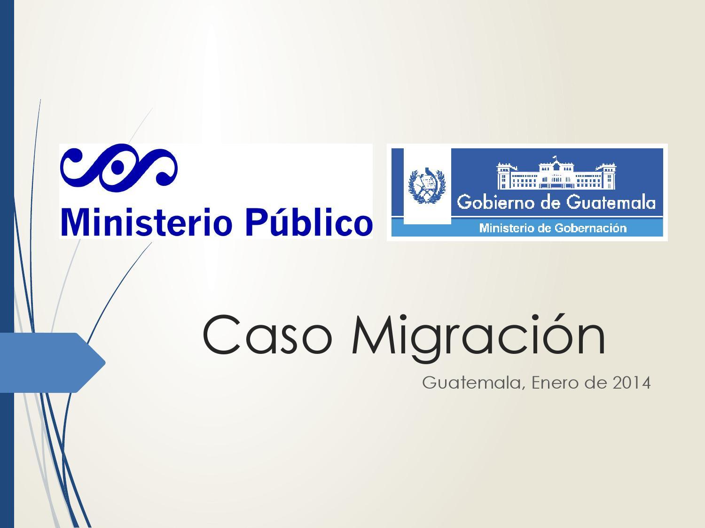 Desarticulan estructura dedicada a la trata de personas by for Ministerio de gobernacion