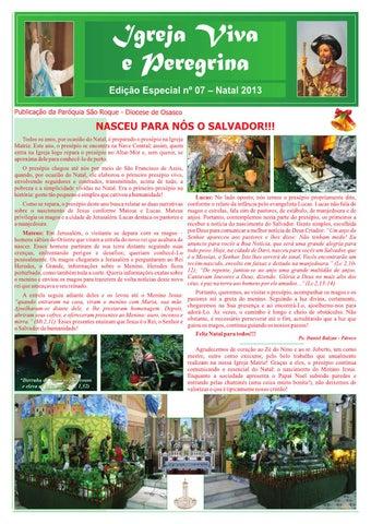 [Igreja Viva e Peregrina – Especial de Natal 2013]