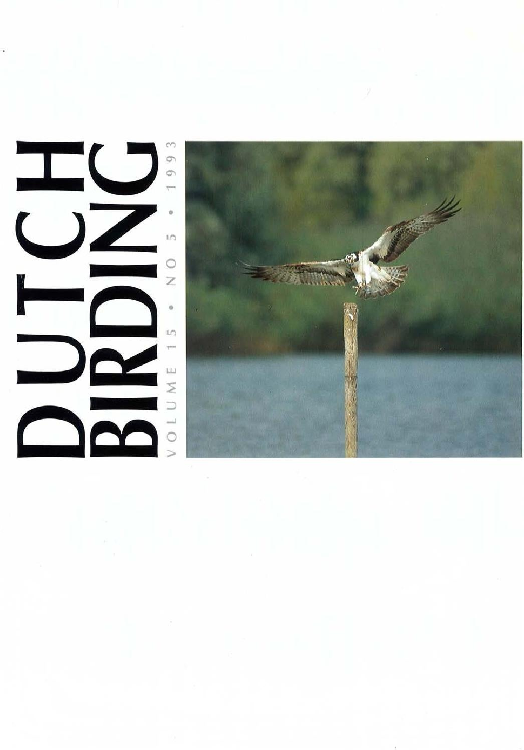 Db 15(5)1993 by DutchBirding - issuu