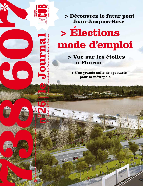 Le journal de la cub n 26 by bordeaux m tropole issuu - Le journal de bordeaux ...
