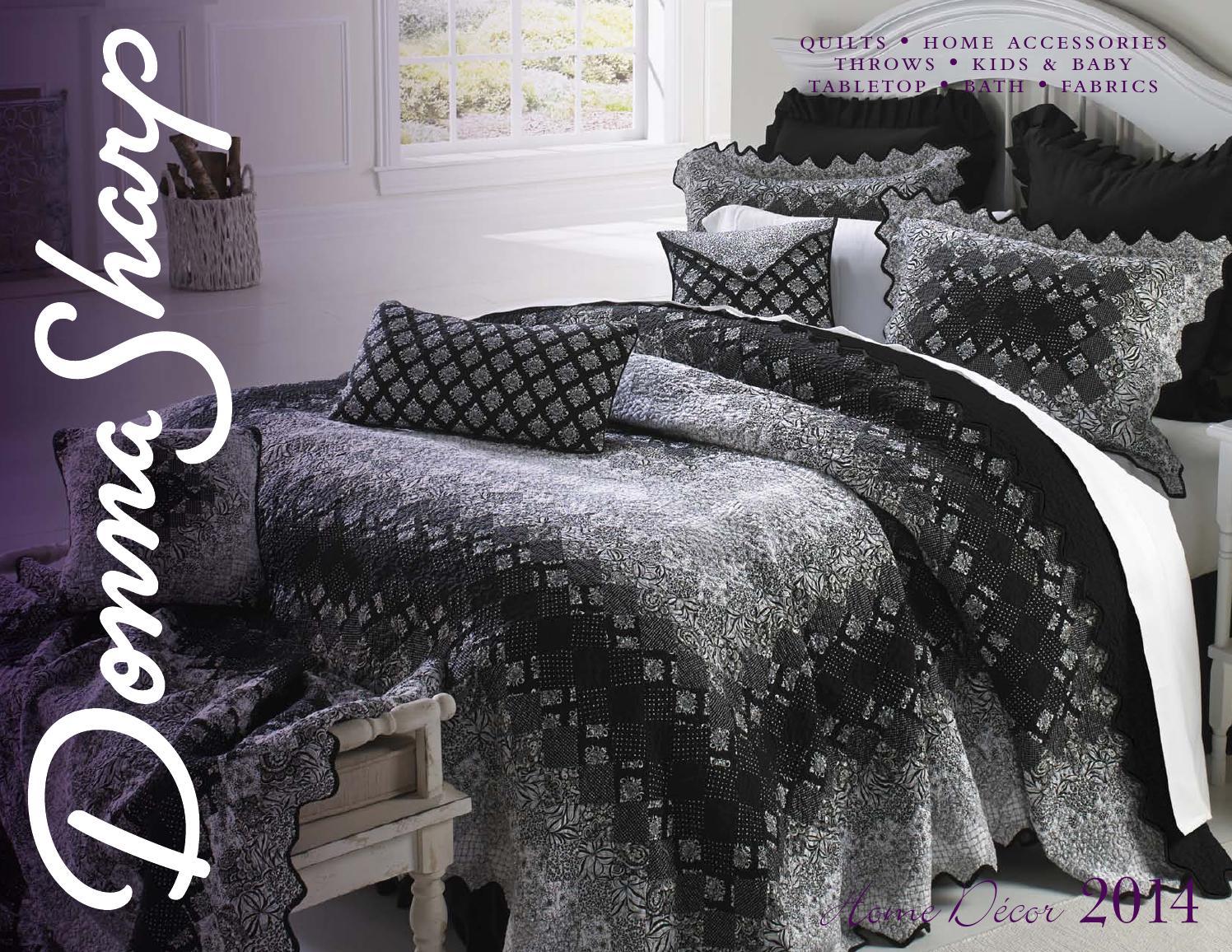 Donna Sharp Home Decor Catalog 2014 By Donna Sharp Inc