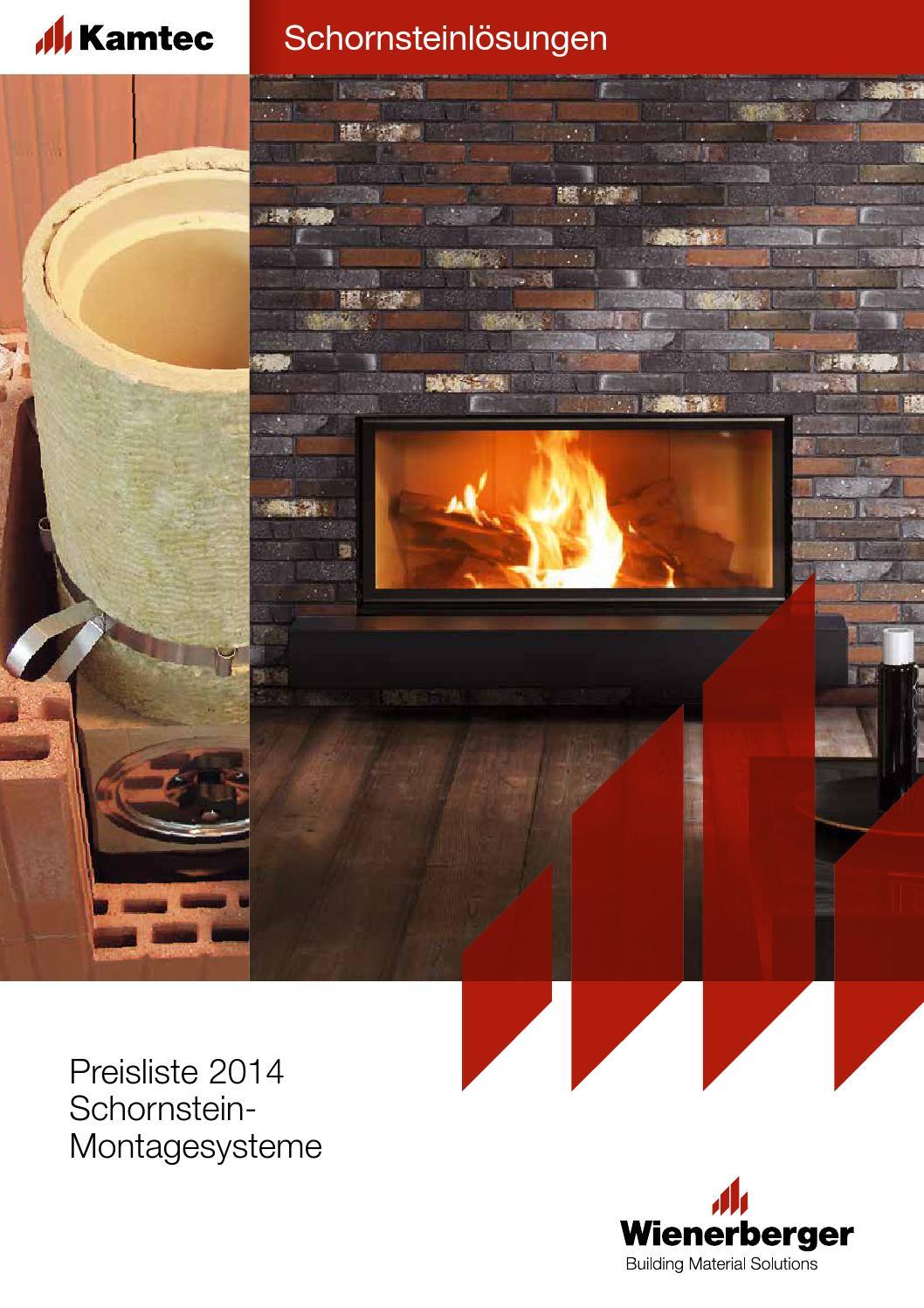 preisliste kamtec 2014 by wienerberger ag issuu. Black Bedroom Furniture Sets. Home Design Ideas