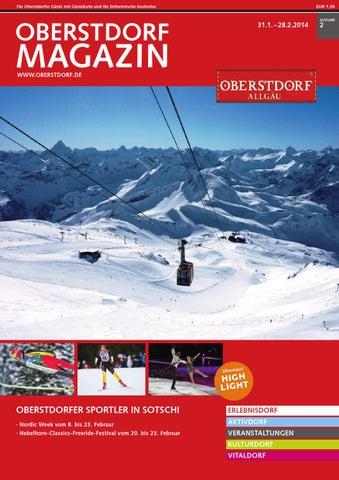 Oberstdorf Magazin 02/2014