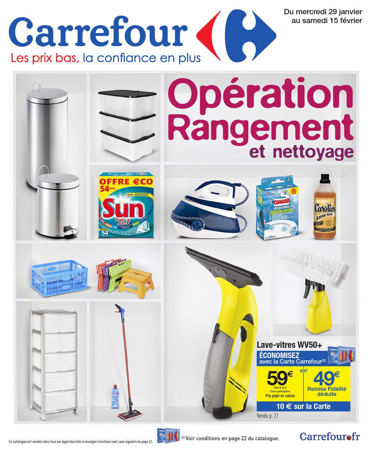 Catalogue carrefour by joe monroe issuu - Tour rangement plastique gifi ...
