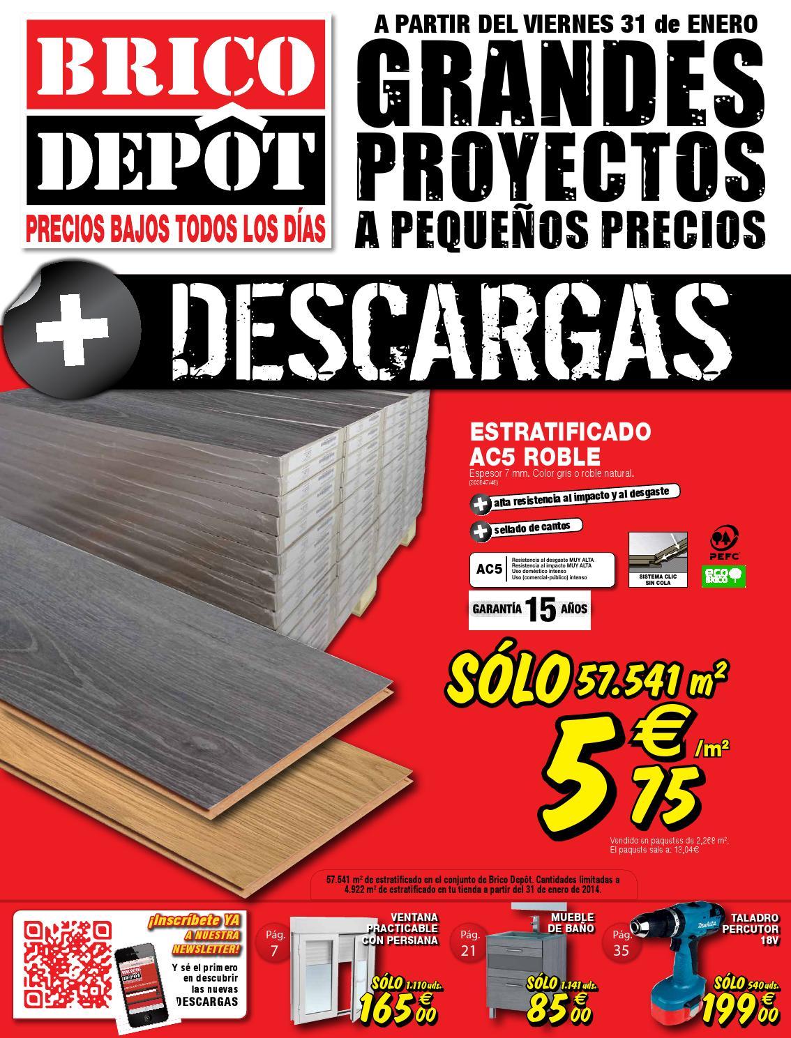 Catalogo febrero 1 majadahonda by for Precio parquet bricodepot