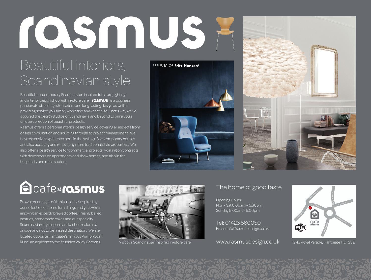 North Yorkshire Luxury Homes  Interiors Magazine Autumn - Scandinavian museums in us