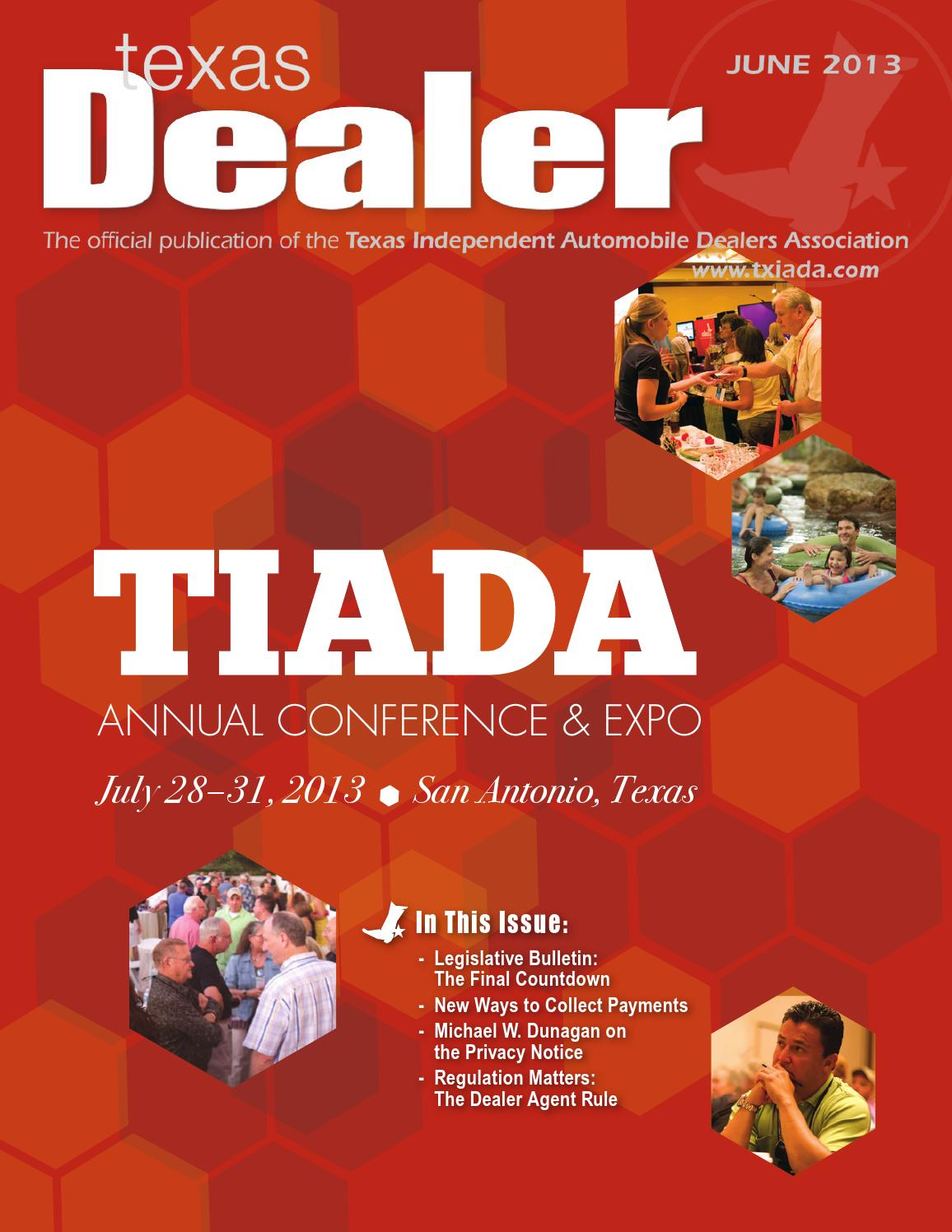 texas dealer 2013 by texas independent auto dealers texas dealer 2013 by texas independent auto dealers association issuu