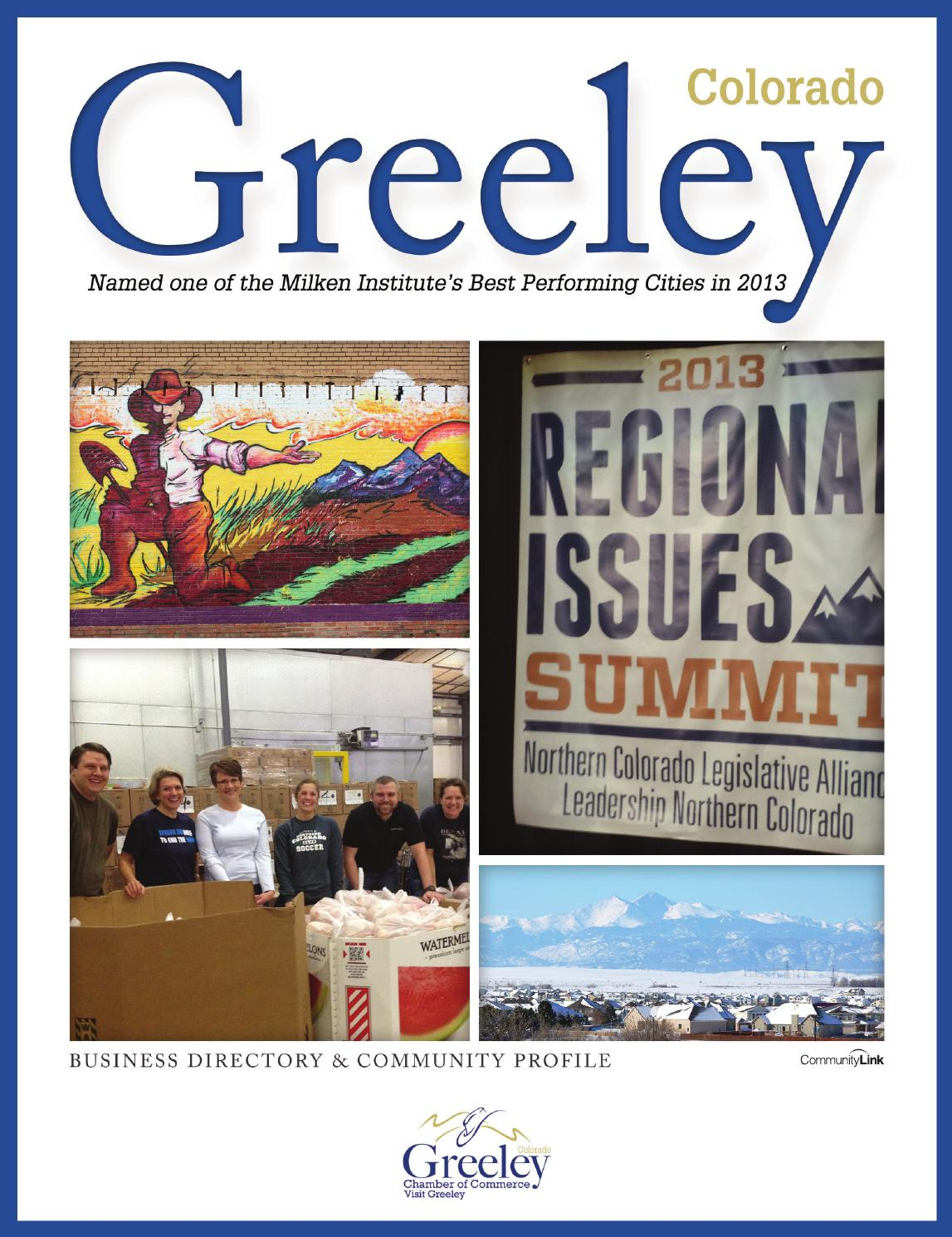 greeley co business directory and community profile by greeley co 2014 business directory and community profile by communitylink issuu