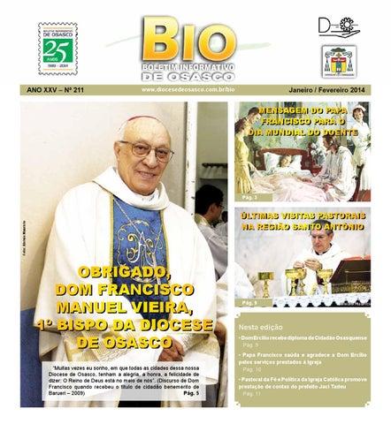 [Bio Diocesano Janeiro/Fevereiro 2014]