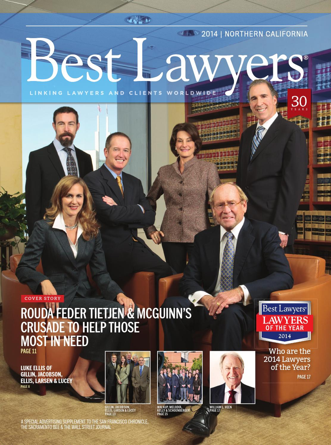 Northern California S Best Lawyers 2014 By Best Lawyers
