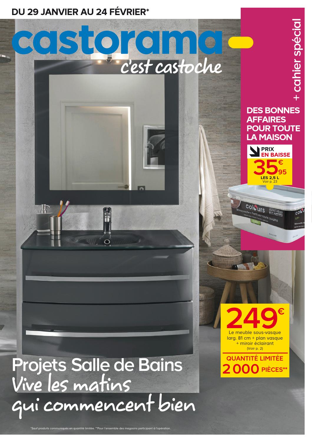Great Elegant Indogate Vasque Double Salle De Bain Castorama With Tabouret  Salle De Bain Castorama With