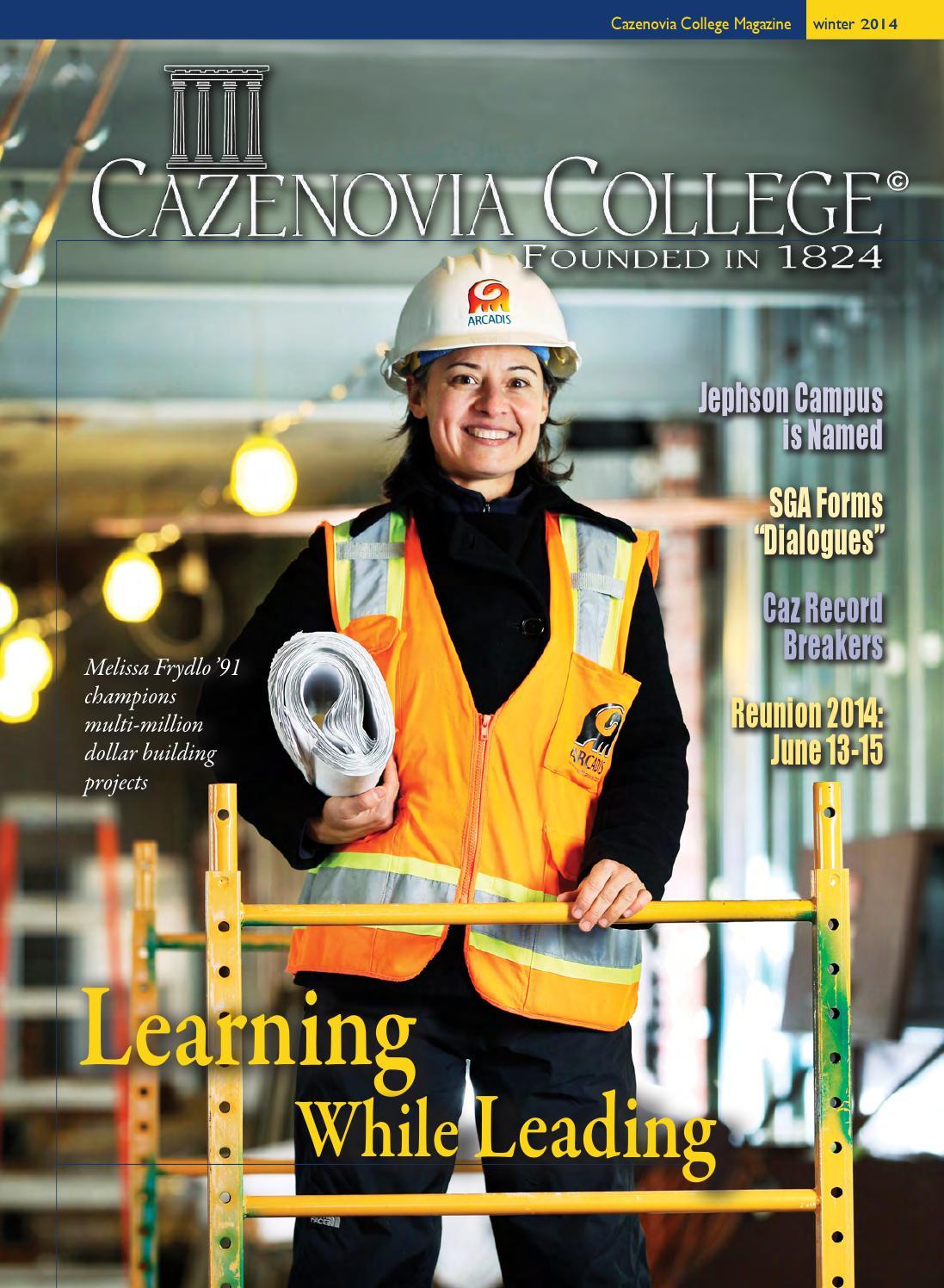 2014 Cazenovia College Winter Magazine by Cazenovia ...