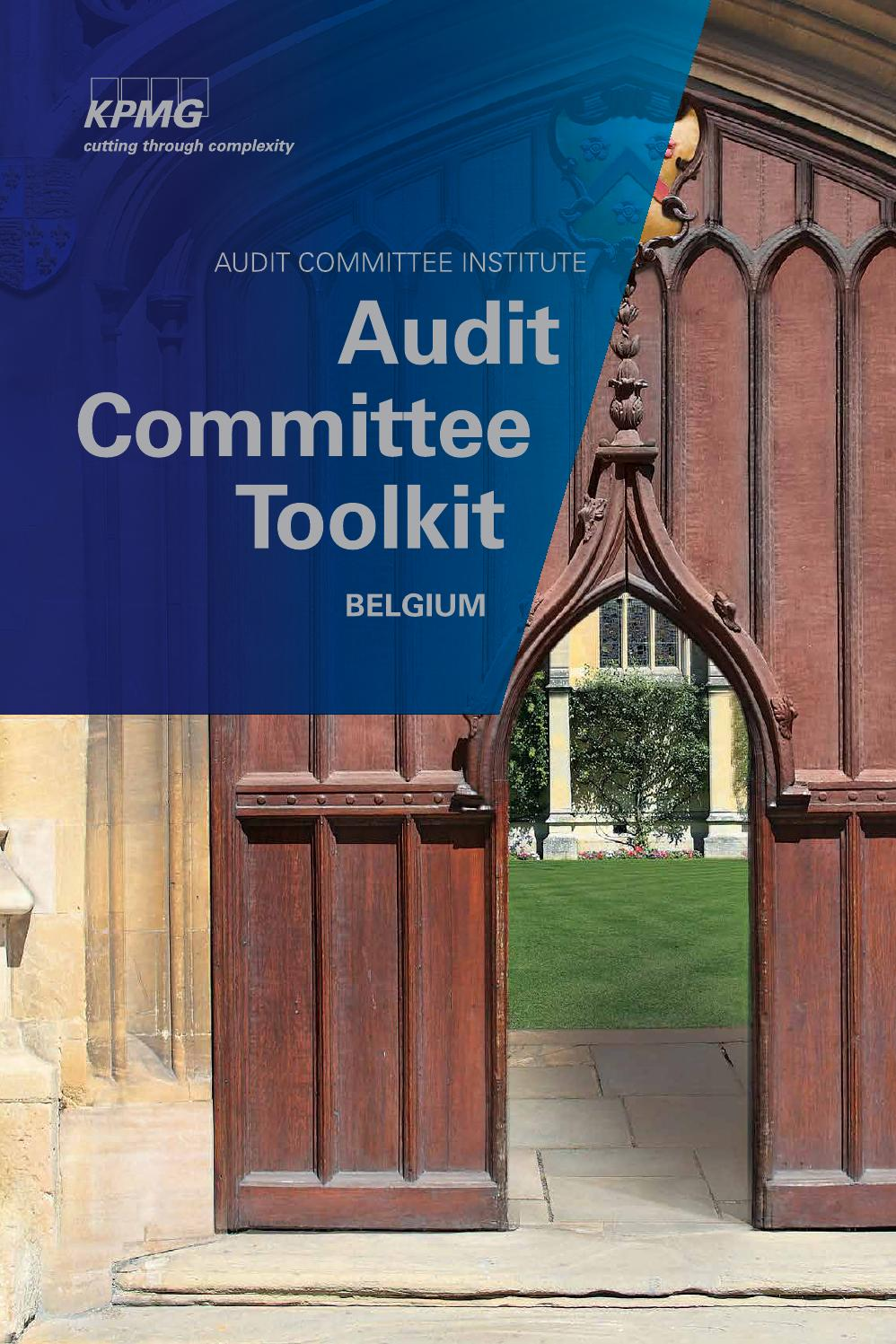 Audit committee toolkit