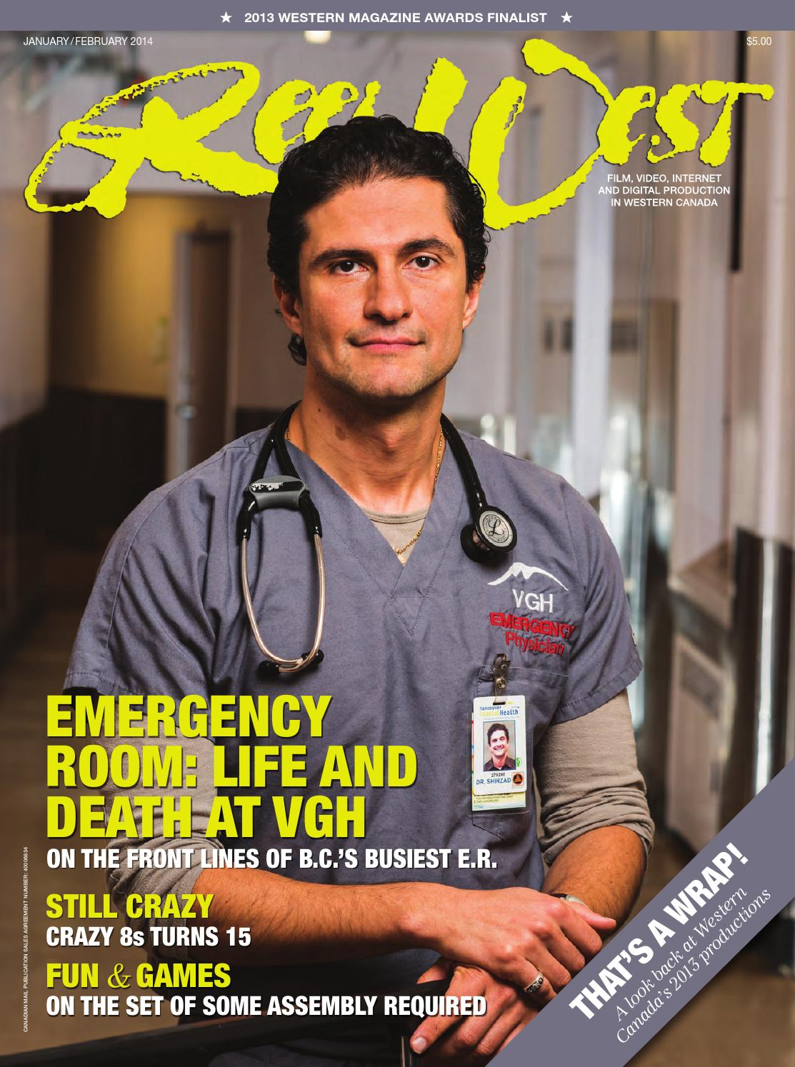 British Columbia S Knowledge Network Emergency Room Life Death At Vgh