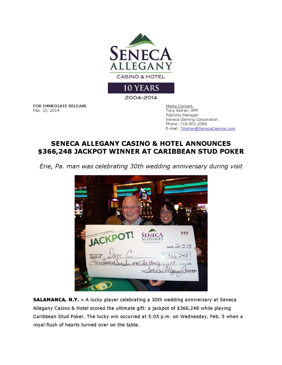 Seneca Casino Poker