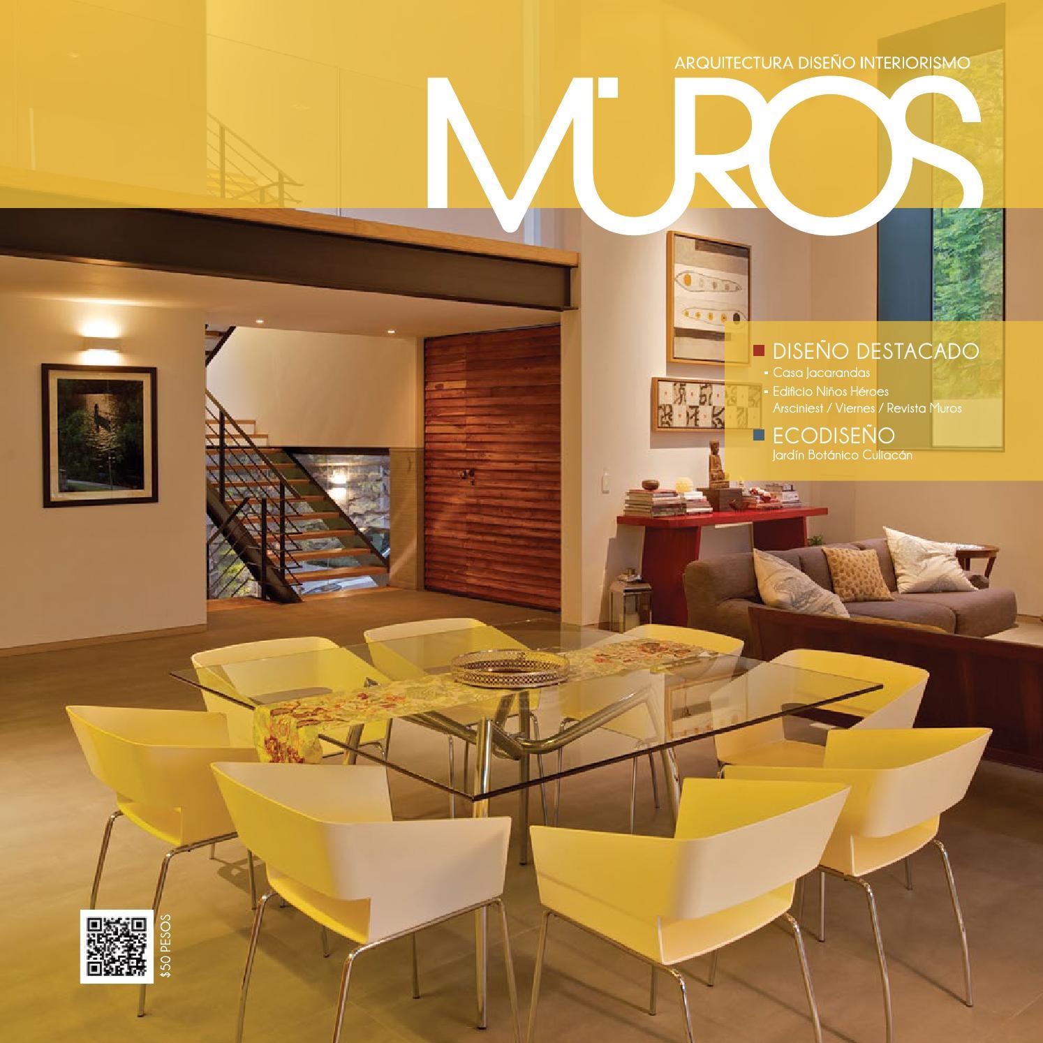 Edici n 9 revista muros arquitectura dise o interiorismo for Revista habitat arquitectura diseno interiorismo