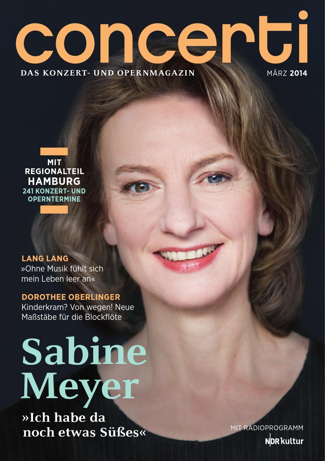 concerti Ausgabe Hamburg September 2014 by concerti - Das Konzert ...