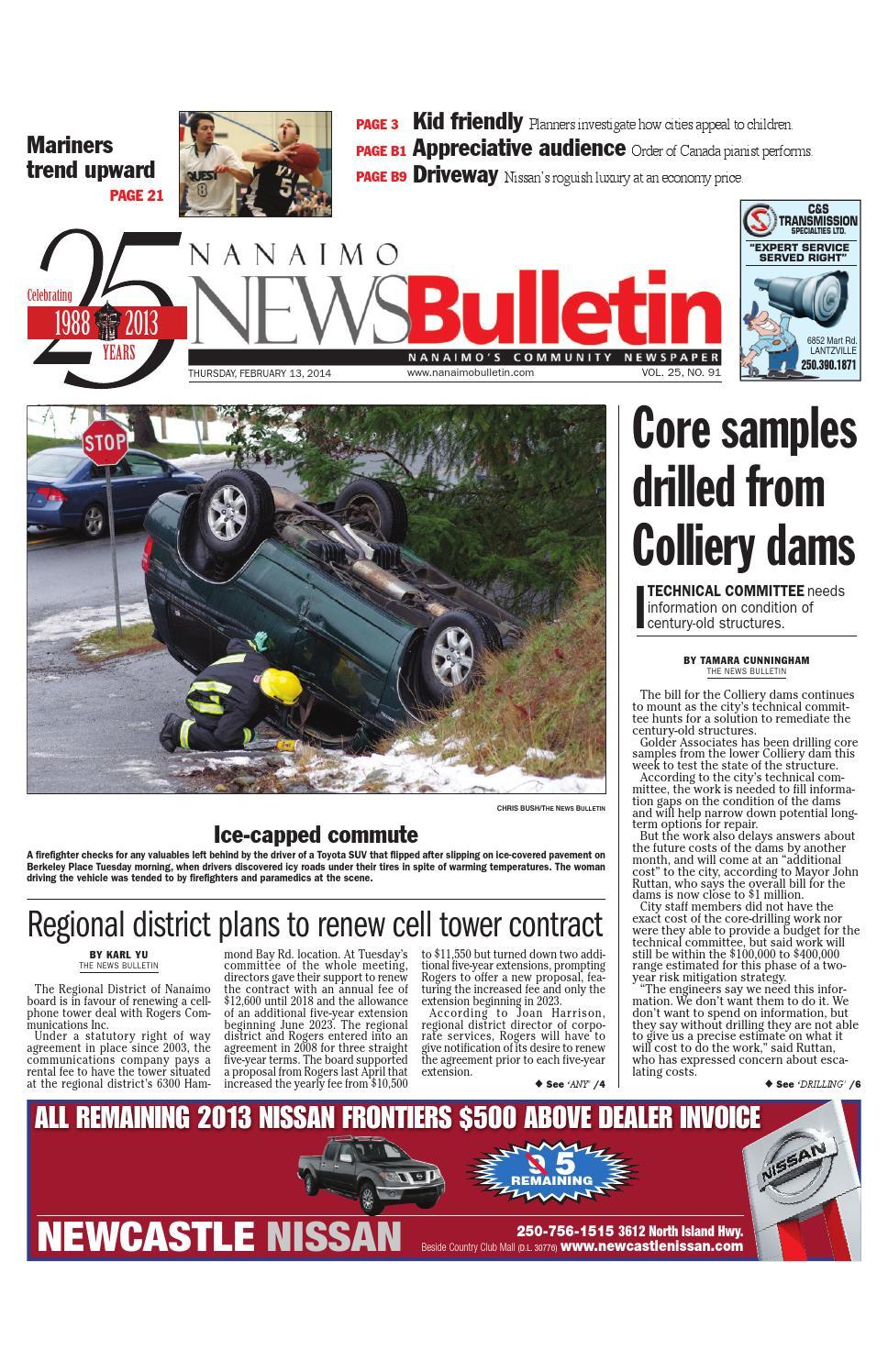 Nanaimo News Bulletin February 13 2014 By Black Press
