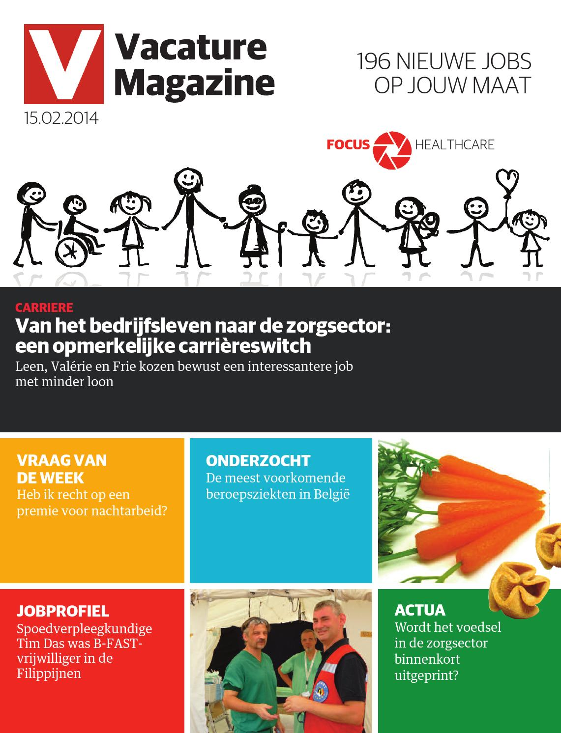 vacature magazine 15 02 2014 by jobs  u0026 careers cv