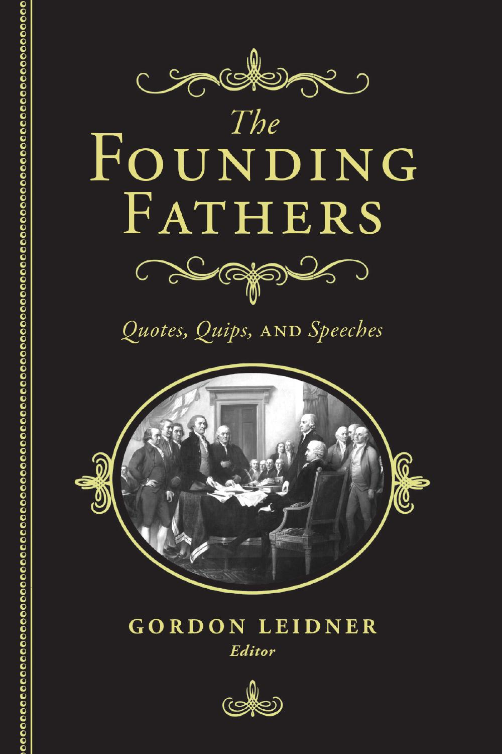 corrupt nature of the founding fathers essay