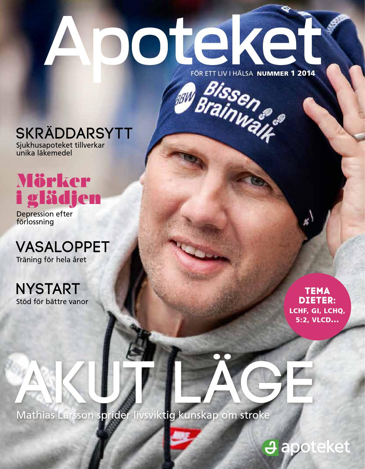 Tidningen Apoteket 1 2014 by Apoteket AB - issuu