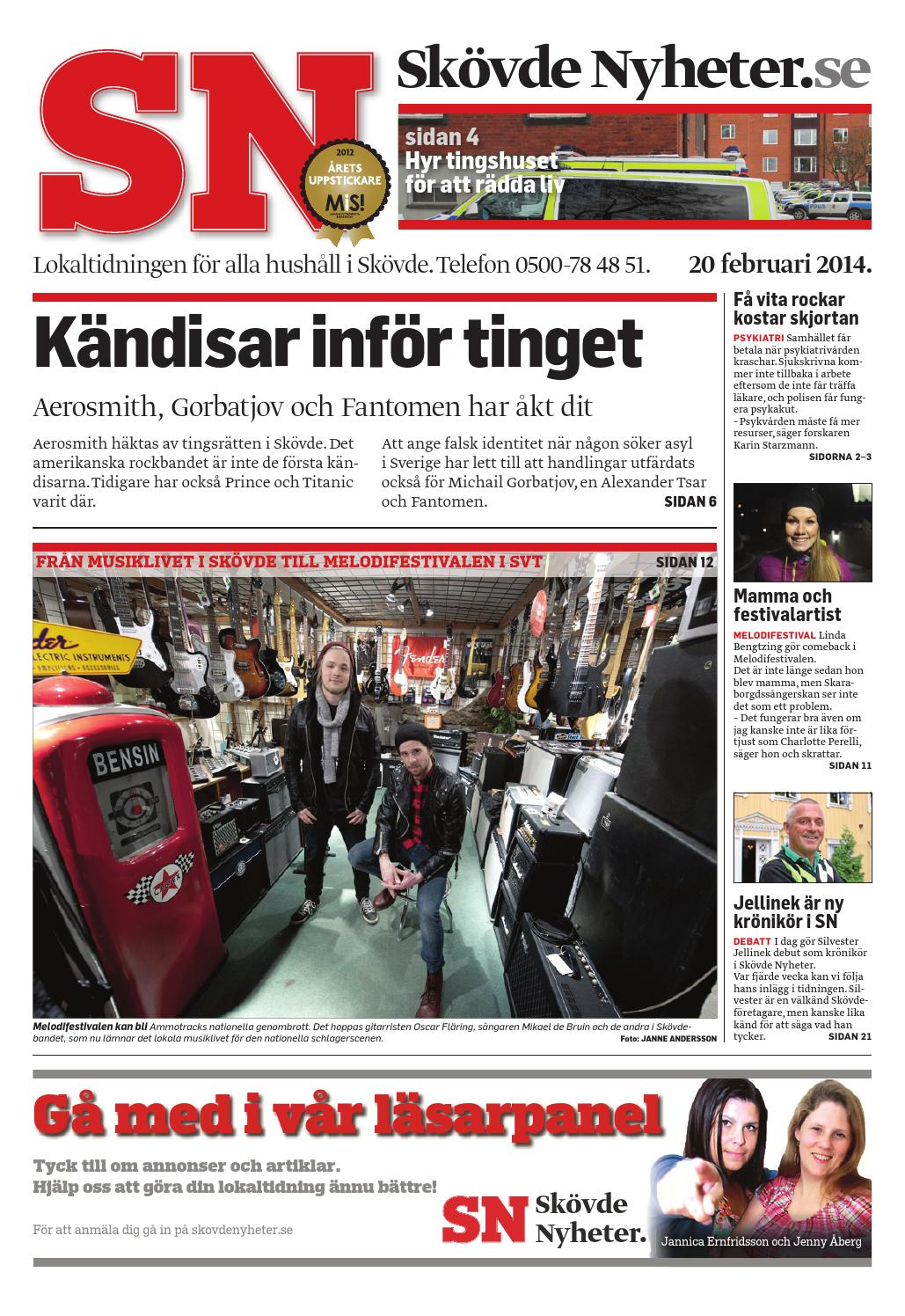 Sn 140227 by Skövde Nyheter - issuu