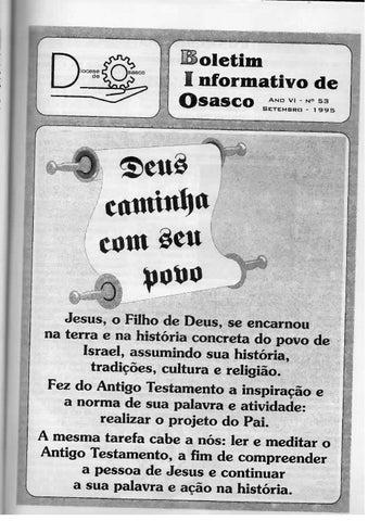 [Bio Diocesano Setembro 1995]