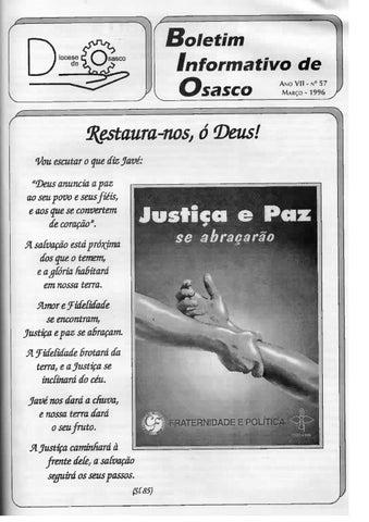 [Bio Diocesano Março 1996]