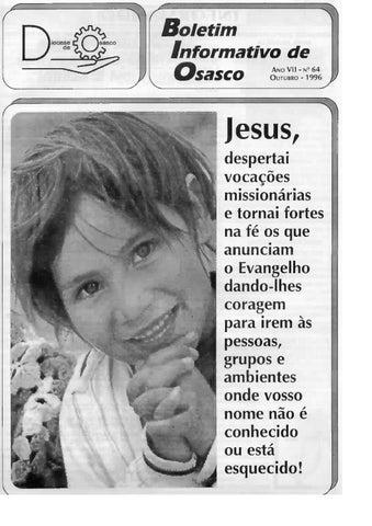 [Bio Diocesano Outubro 1996]