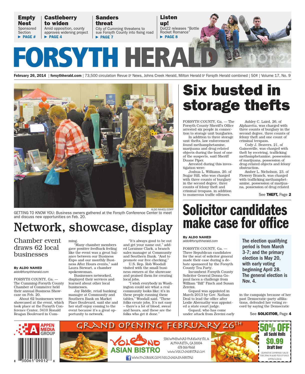 Forsyth Herald February 26 2014 By Appen Media Group Issuu