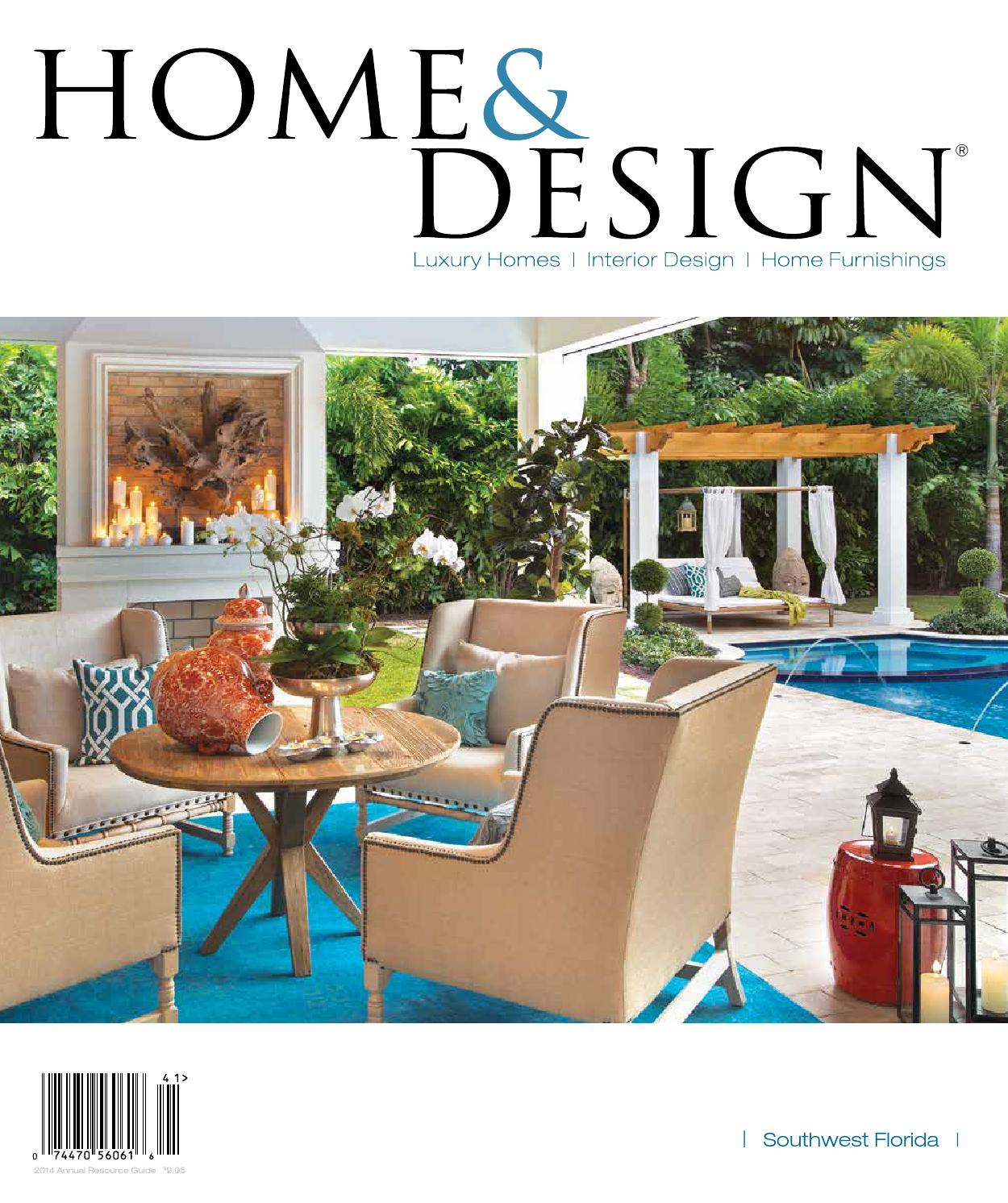 Home Design Magazine Annual Resource Guide 2014 Southwest Florida Edition By Anthony Spano