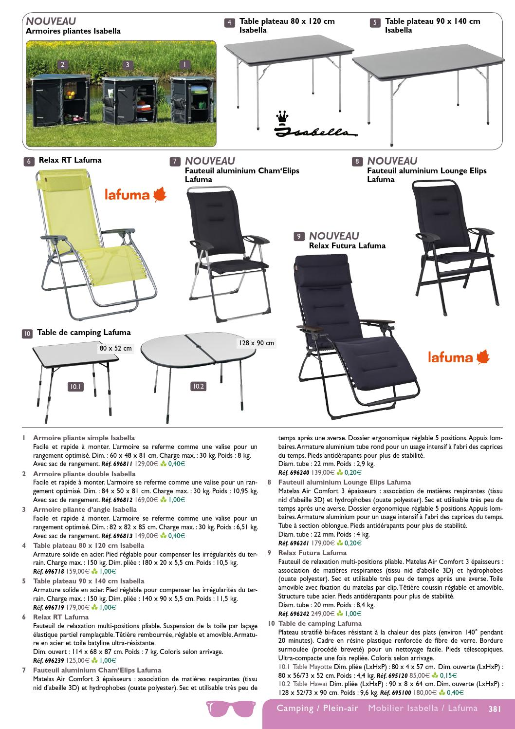 Catalogue 2014 narbonne accessoires camping plein air by narbonne accesso - Rangement valise optimise ...