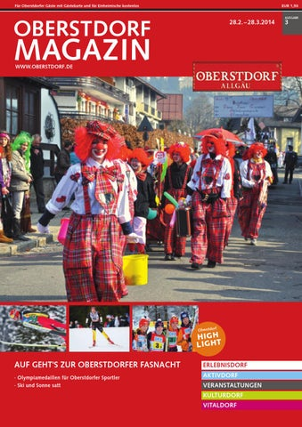Oberstdorf Magazin 3/2014