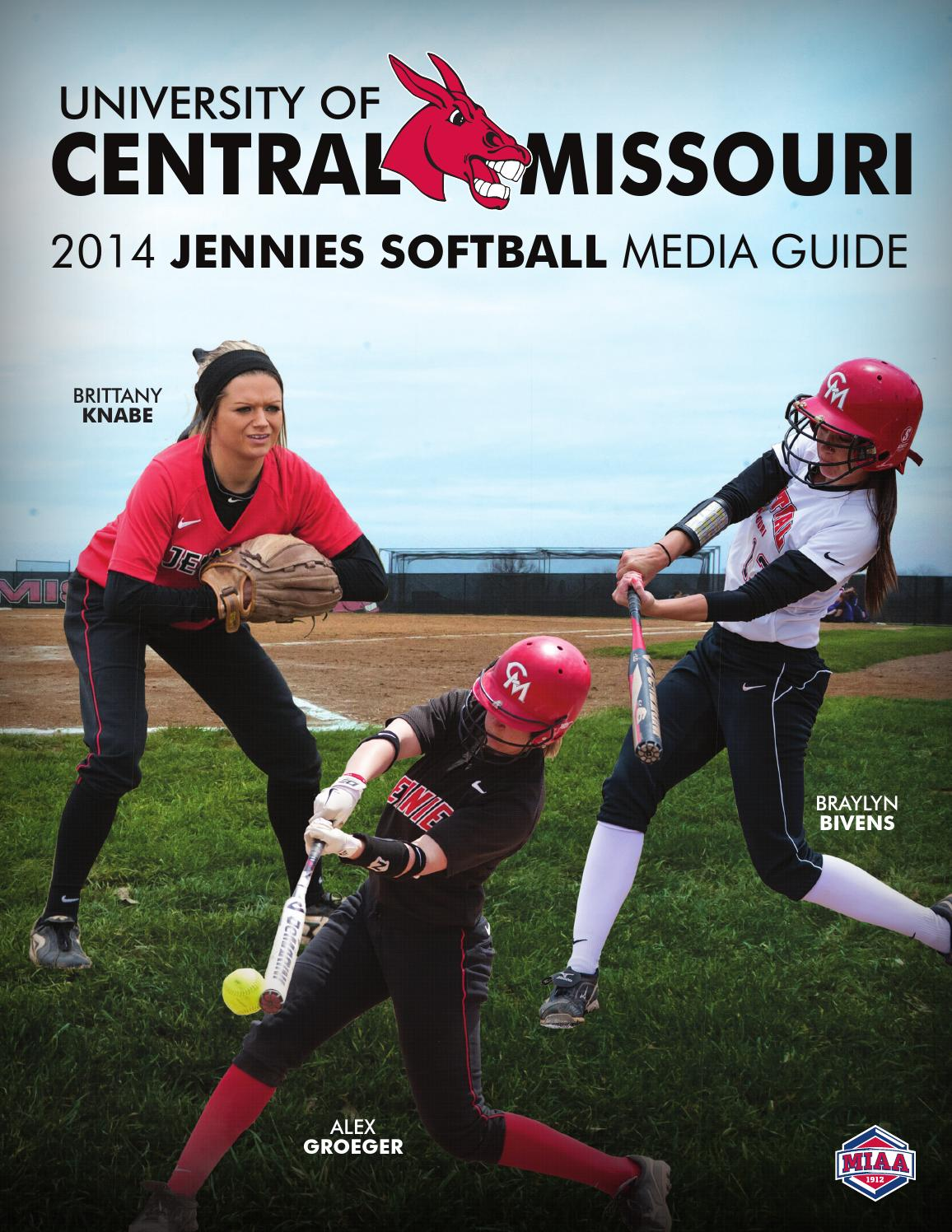 2014 Central Missouri Jennies Softball Media Guide by UCM ...