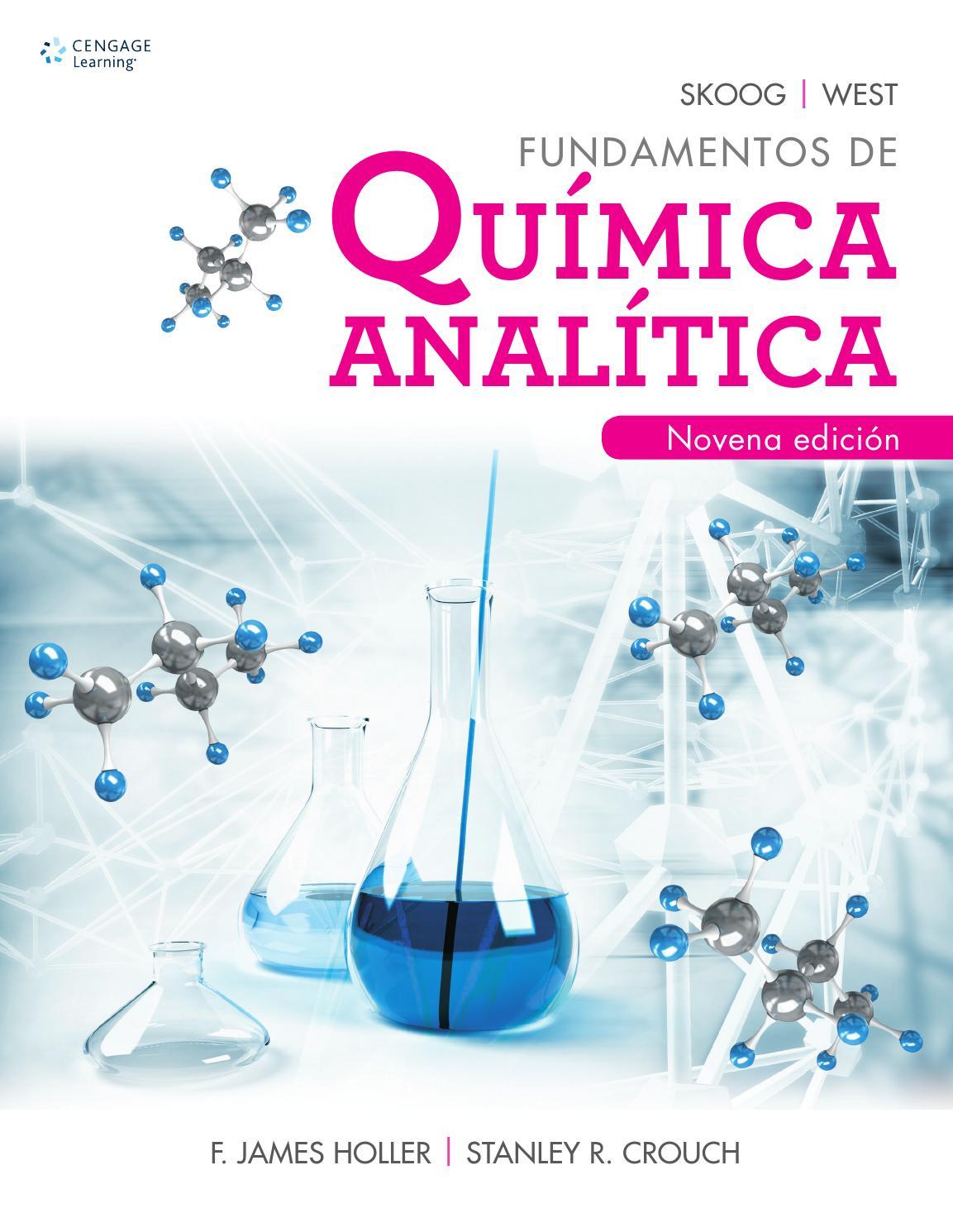 Fundamentos de qu mica anal tica 9a ed douglas a skoog for Libro la quimica y la cocina pdf