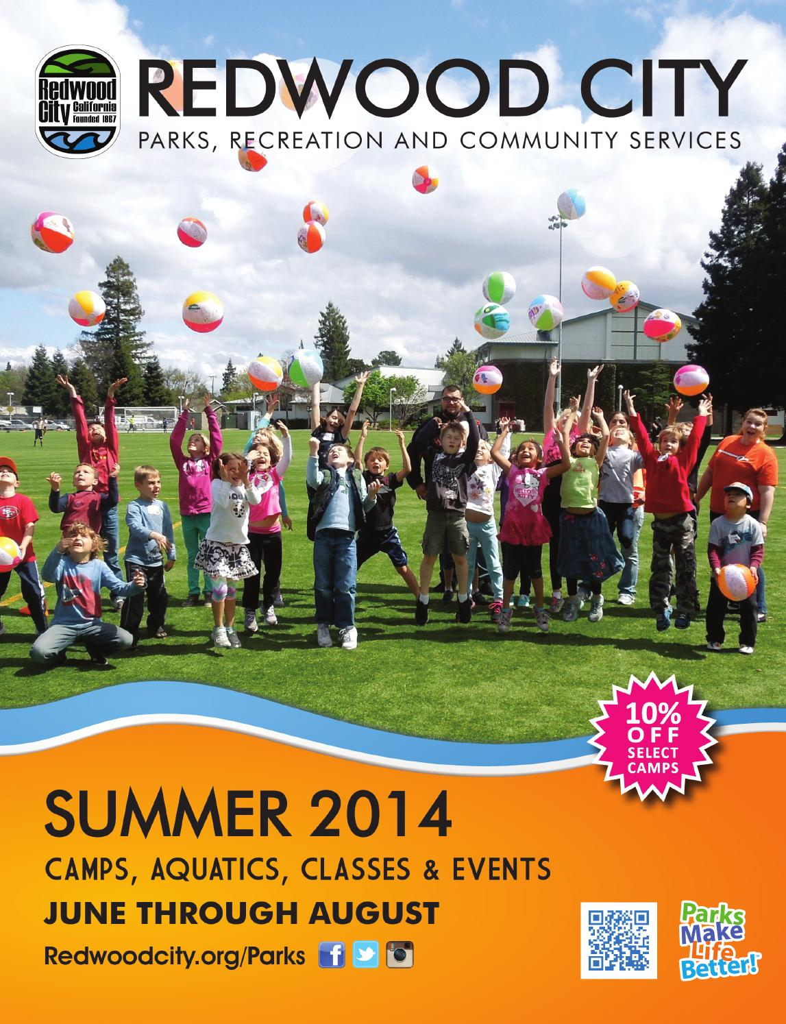 redwood city summer activity guide by redwood city parks redwood city summer 2014 activity guide by redwood city parks recreation community services issuu