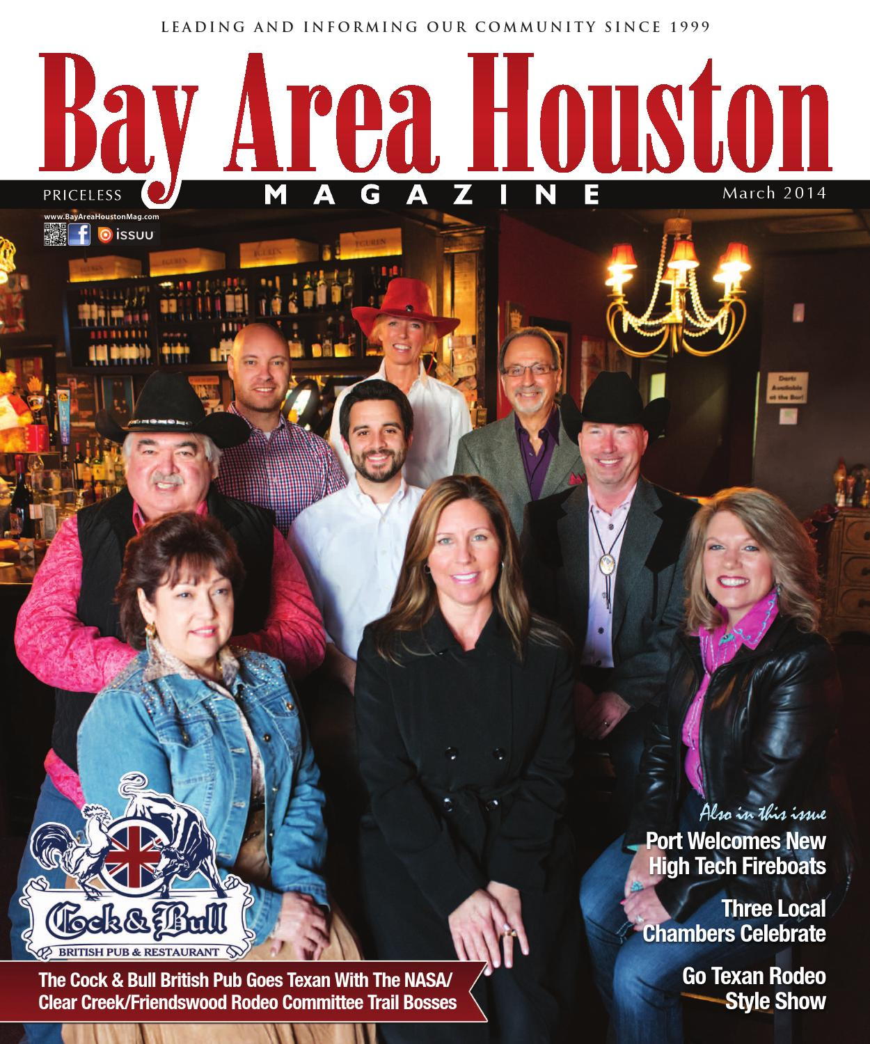 bay area houston magazine march 2014 by bay group media. Black Bedroom Furniture Sets. Home Design Ideas