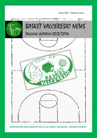 Basket Valceresio News 2014