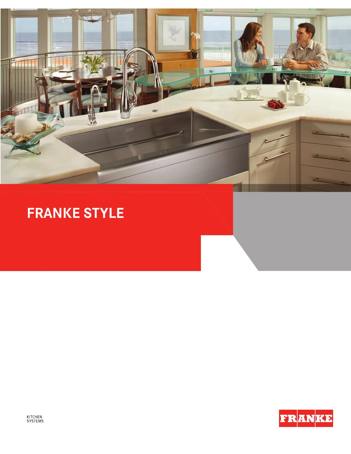 franke kitchen systems us luxury catalog 2014 by franke. Black Bedroom Furniture Sets. Home Design Ideas