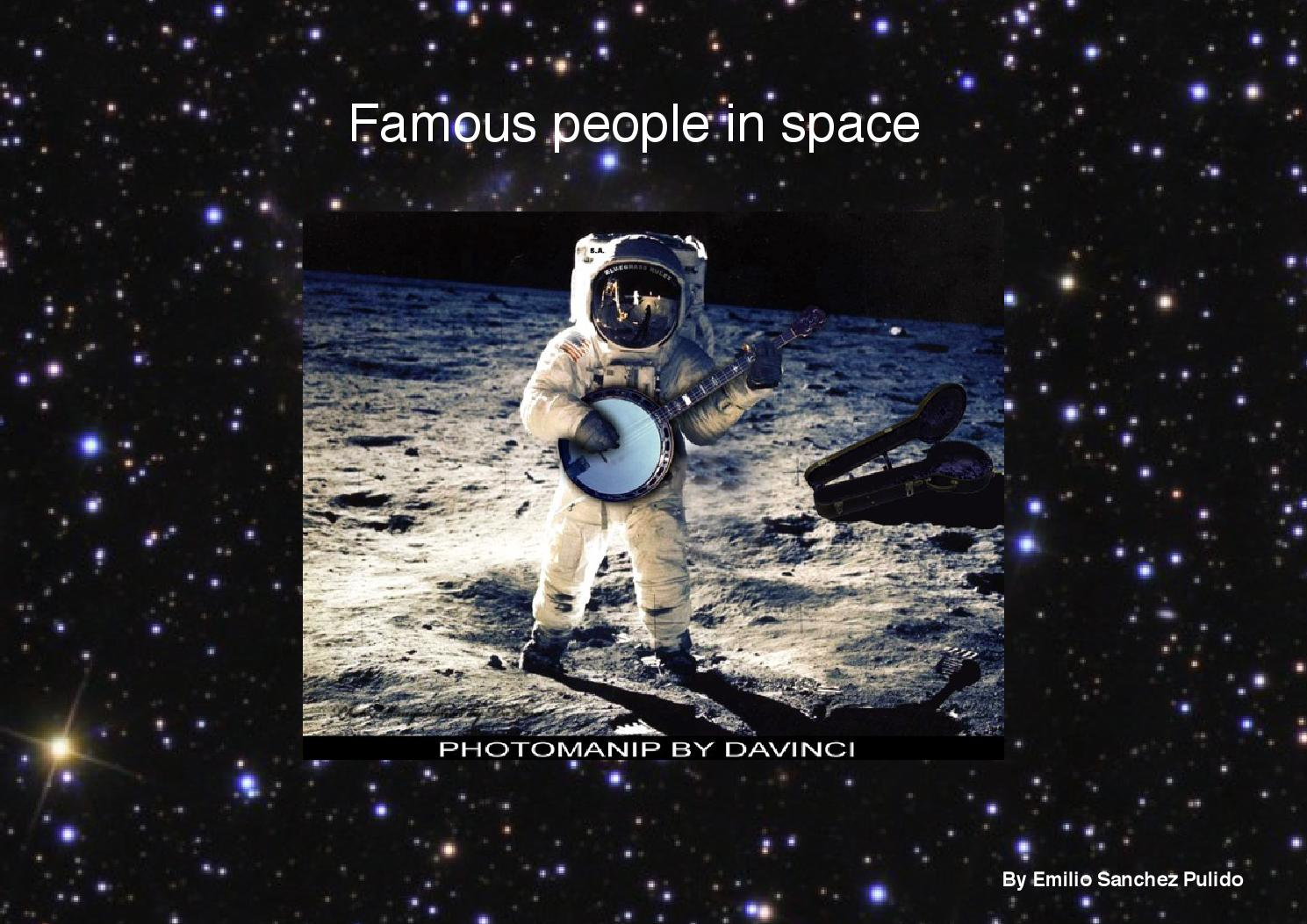 ISSUU - Famous Astronauts by 5PT_student