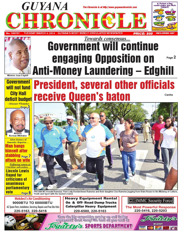 Guyana chronicle 04 03...