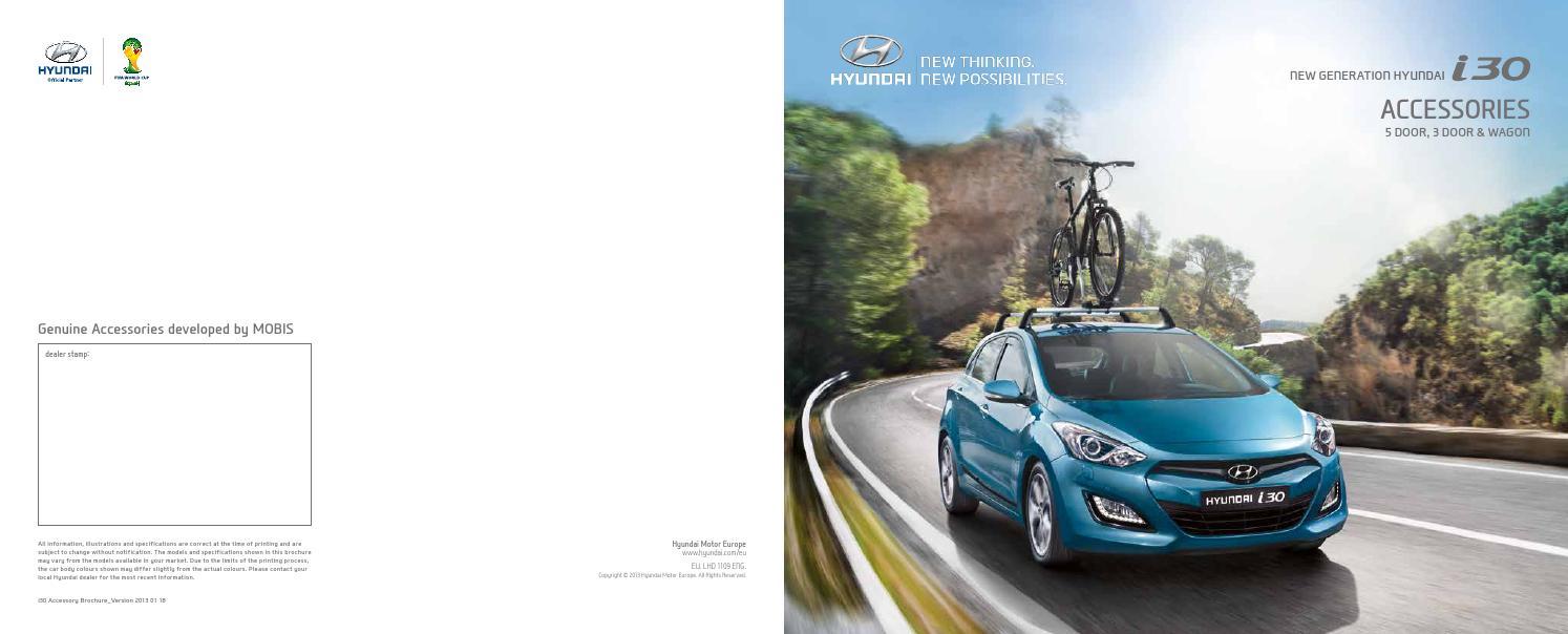 I30 Accessories By Hyundai Motor Baltic Ltd Issuu