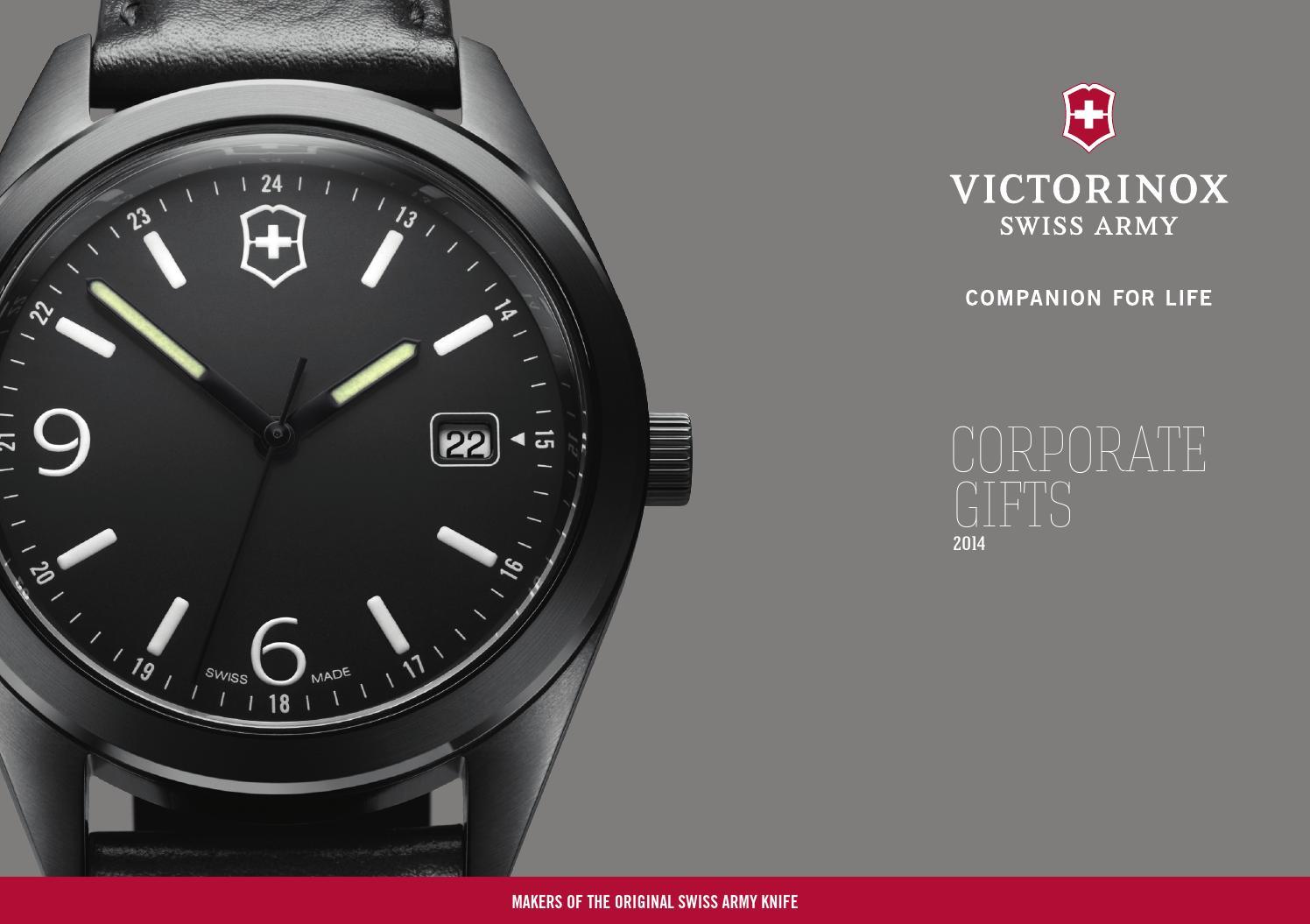 Issuu Corporate Gift Catalog De Amp Fr By Victorinox Swiss
