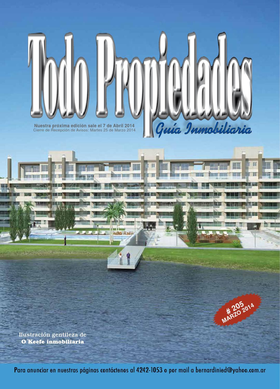 Todo propiedades 205 by todo propiedades guia inmobiliaria for Guia inmobiliaria