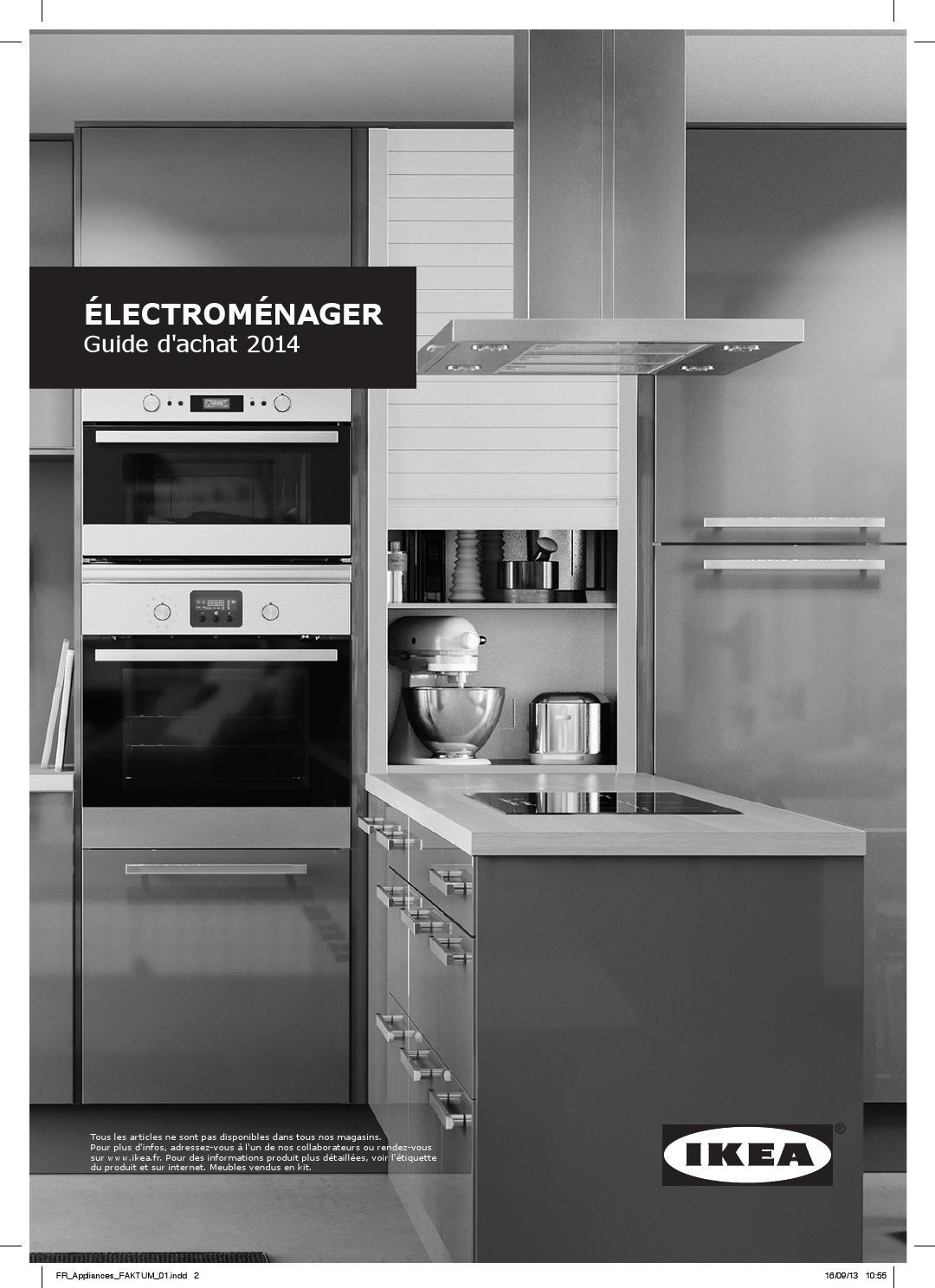 Electromenager ikea franc by ikea catalog issuu for Electromenager cuisine
