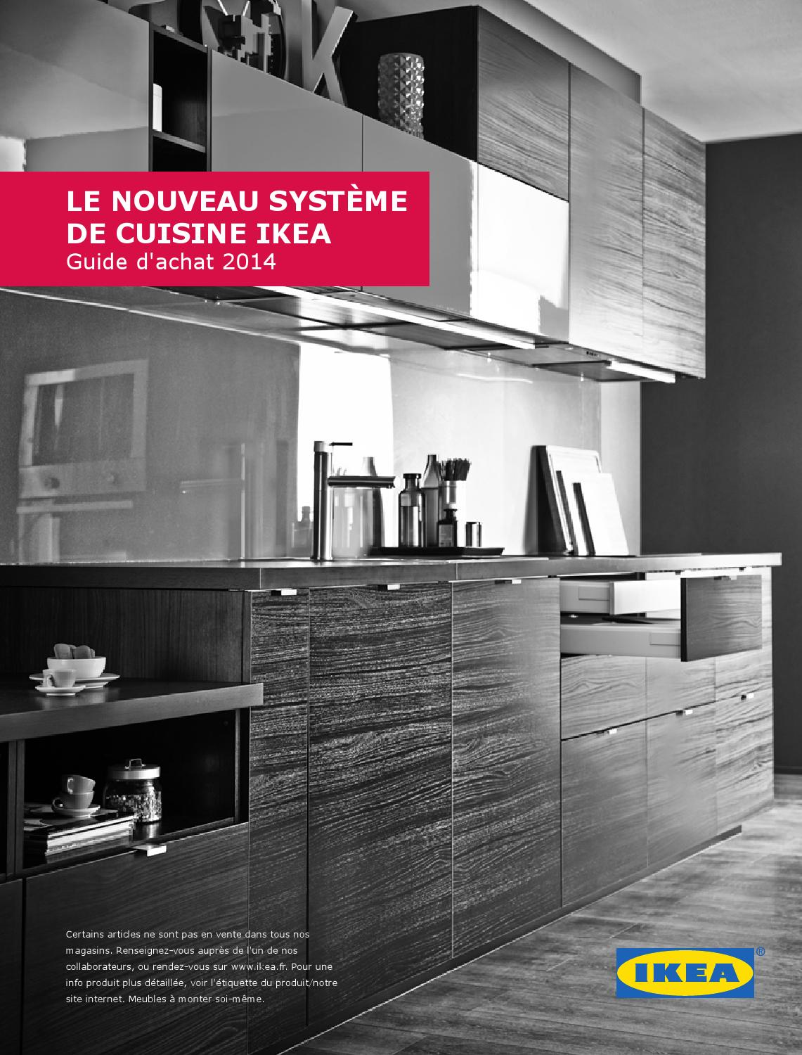 le nouveau cuisine ikea 2014 by ikea catalog issuu. Black Bedroom Furniture Sets. Home Design Ideas