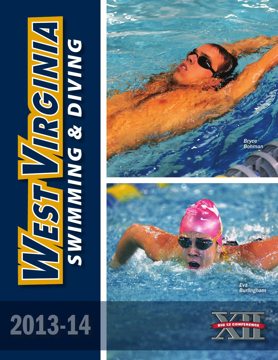 Issuu 2013 14 west virginia university swimming diving - University of queensland swimming pool ...