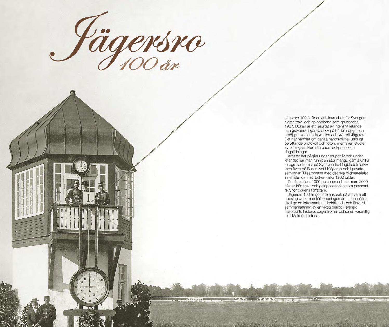 Jagersroboken 100 ar by Jägersro trav - issuu