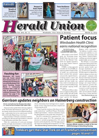 Herald Union, March 13, 2014