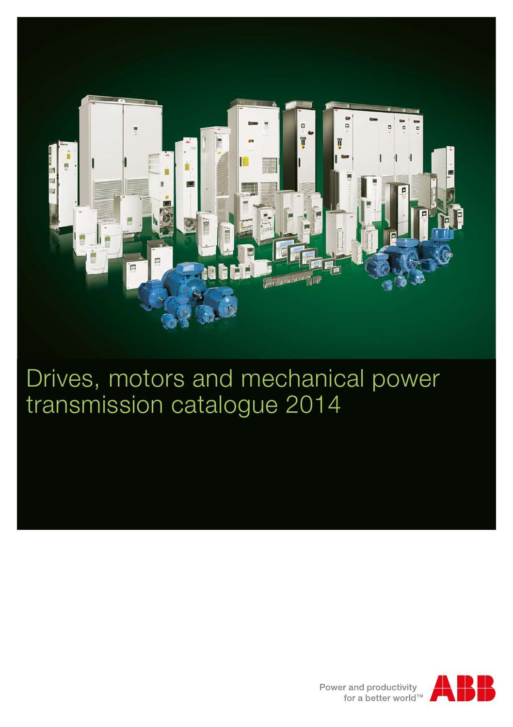Abb Drives Motors Company Brochure 2014 By Process